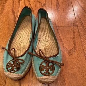 Tory Burch canvas loafers